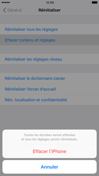 Apple iPhone 6s Plus iOS 10 - Appareil - Restauration d