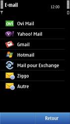 Nokia N8-00 - E-mail - Configuration manuelle - Étape 7