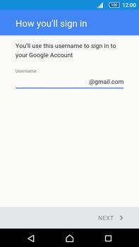 Sony Xperia Z5 Premium (E6853) - Applications - Create an account - Step 9