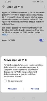 Huawei P30 Lite - WiFi - Activez WiFi Calling - Étape 8