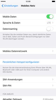 Apple iPhone 6 Plus - Netzwerk - Netzwerkeinstellungen ändern - 0 / 0