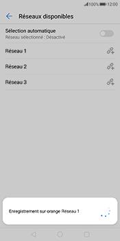 Huawei Mate 10 Pro - Réseau - Sélection manuelle du réseau - Étape 10