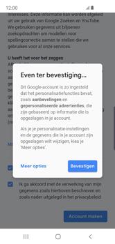 Samsung Galaxy S10e - apps - account instellen - stap 17