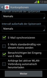 Samsung Galaxy S3 Mini - E-Mail - Konto einrichten (outlook) - 1 / 1