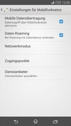 Sony D5103 Xperia T3 - Ausland - Im Ausland surfen – Datenroaming - Schritt 10