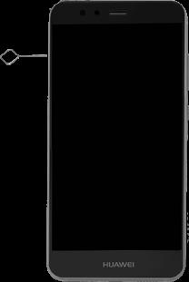 huawei p10 sim karte einsetzen SIM Karte einlegen   P10 Lite & Gerätehilfe