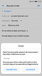 Honor 9 - E-mails - Envoyer un e-mail - Étape 13