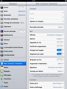 Apple iPad Retina - E-mail - Configuration manuelle - Étape 18
