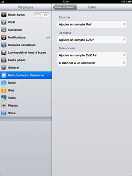 Apple iPad - E-mail - Configuration manuelle - Étape 5