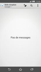 Sony Xperia Z2 - E-mail - configuration manuelle - Étape 4