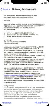Apple iPhone X - iOS 11 - Persönliche Einstellungen von einem alten iPhone übertragen - 17 / 40