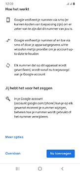 Samsung Galaxy A20e - apps - account instellen - stap 14
