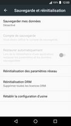 Acer Liquid Zest 4G - Appareil - Réinitialisation de la configuration d