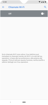 Nokia 7.2 - WiFi - Attivare WiFi Calling - Fase 10