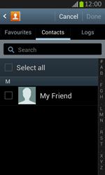 Samsung S7710 Galaxy Xcover 2 - E-mail - Sending emails - Step 6