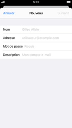 Apple iPhone 7 - iOS 13 - E-mail - Configuration manuelle - Étape 7