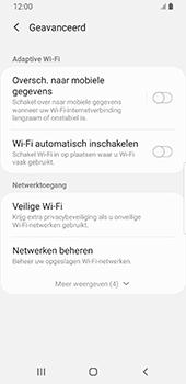 Samsung galaxy-s9-android-pie - wifi - schakel Wi-Fi Assistentie uit - stap 11