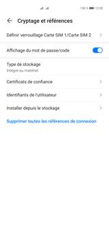 Huawei P40 Pro - Sécuriser votre mobile - Personnaliser le code PIN de votre carte SIM - Étape 6