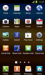 Samsung Galaxy S II - Internet and data roaming - Using the Internet - Step 3