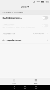 Huawei P9 Plus - Bluetooth - koppelen met ander apparaat - Stap 7