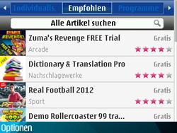 Nokia E71 - Apps - Herunterladen - 14 / 18