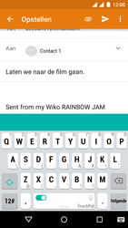 Wiko Rainbow Jam - Dual SIM - E-mail - E-mails verzenden - Stap 7