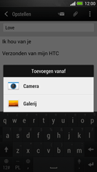 HTC One - e-mail - hoe te versturen - stap 12