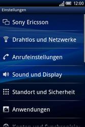 Sony Ericsson Xperia X8 - Internet - Manuelle Konfiguration - 5 / 23