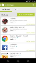 Sony Xperia Z3 - Apps - Nach App-Updates suchen - Schritt 6