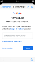 Apple iPhone SE - iOS 13 - E-Mail - 032a. Email wizard - Gmail - Schritt 7