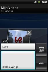Sony Xperia Mini Pro - MMS - Afbeeldingen verzenden - Stap 12