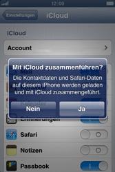 Apple iPhone 3GS - Apps - Konfigurieren des Apple iCloud-Dienstes - Schritt 6
