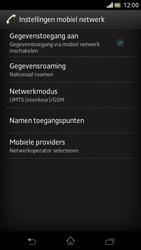 Sony LT30p Xperia T - netwerk en bereik - gebruik in binnen- en buitenland - stap 6