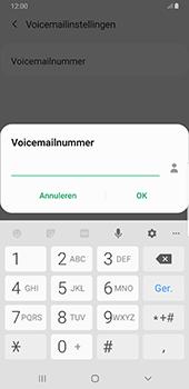 Samsung Galaxy S8+ - Android Pie (SM-G955F) - Voicemail - Handmatig instellen - Stap 10