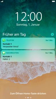 Apple iPhone 8 Plus - iOS 11 - Sperrbildschirm und Benachrichtigungen - 8 / 10