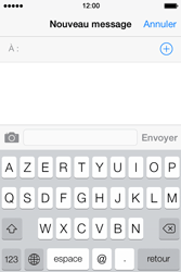 Apple iPhone 4S - Contact, Appels, SMS/MMS - Envoyer un SMS - Étape 4