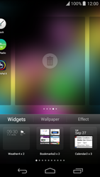Wiko Highway Pure - Getting started - Installing widgets and applications on your start screen - Step 4