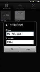 Sony LT22i Xperia P - Internet - Internet browsing - Step 8