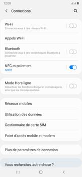 Samsung Galaxy Note20 Ultra 5G - Internet et connexion - Accéder au réseau Wi-Fi - Étape 5