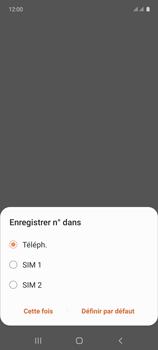 Samsung Galaxy A71 - Contact, Appels, SMS/MMS - Ajouter un contact - Étape 6