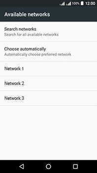 Acer Liquid Zest 4G Plus DualSim - Network - Manually select a network - Step 9