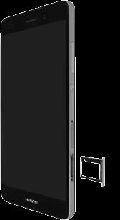 Huawei P8 Lite - SIM-Karte - Einlegen - Schritt 4