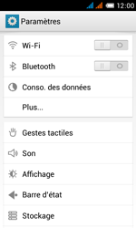 Alcatel One Touch Pop C3 - WiFi - Configuration du WiFi - Étape 4