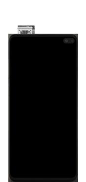 Samsung Galaxy S10 Plus - Premiers pas - Insérer la carte SIM - Étape 5