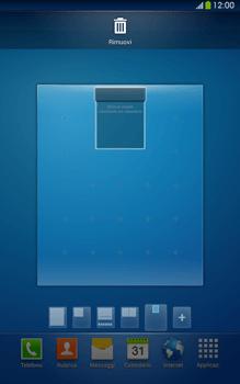 Samsung Galaxy Tab 3 8-0 LTE - Operazioni iniziali - Installazione di widget e applicazioni nella schermata iniziale - Fase 10