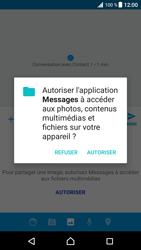 Sony Xperia XZ Premium - Contact, Appels, SMS/MMS - Envoyer un MMS - Étape 14