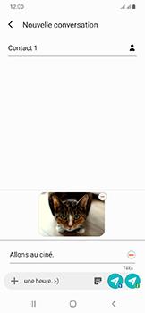 Samsung Galaxy A20e - Contact, Appels, SMS/MMS - Envoyer un MMS - Étape 22