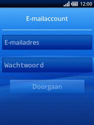 Sony Ericsson Xperia X10 Mini - E-mail - handmatig instellen - Stap 4