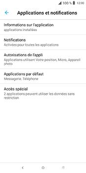 Alcatel 3L - Applications - Supprimer une application - Étape 5