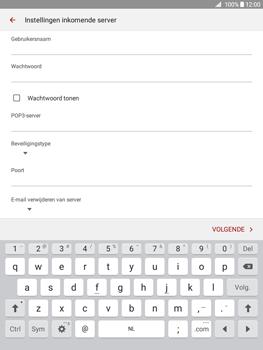 Samsung Galaxy Tab A 9.7 - E-mail - Handmatig instellen - Stap 10